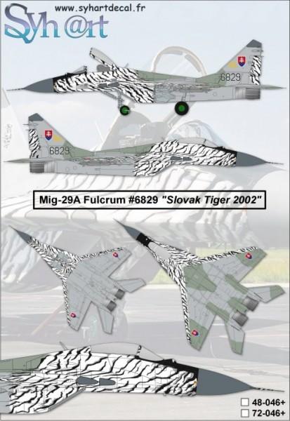 Mig-29 Fulcrum 6829
