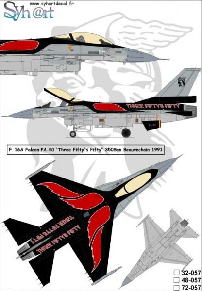 "F-16A Falcon FA-50 ""Three Fifty's Fifty"