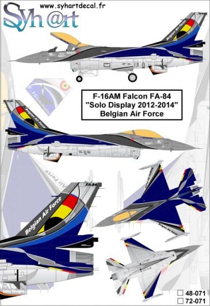 F-16AM Falcon FA-84