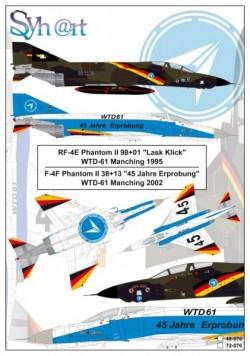 F-4F + RF-4E Phantom II