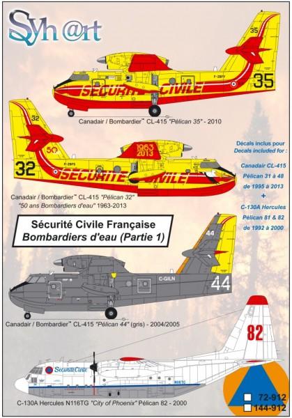 Sécurité Civile Française (Part 1) CL-415 + C-130A
