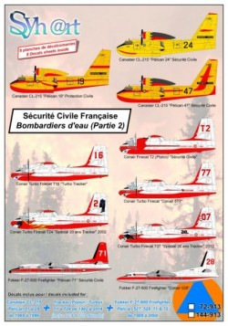 Sécurité Civile Française (Part 1) CL-215 + Tracker + F-27