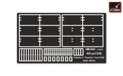 Pz.Kpfw.V Ausf.D/A Panther side skirts (ZVE)
