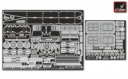 TOS-1A Russian Heavy Flamethrower system - superdetailing set