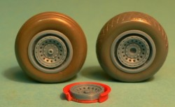 B-17/24/29 wheels late - radial tread