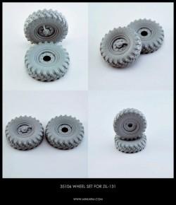 Wheel set for Soviet Truck ZiL-131