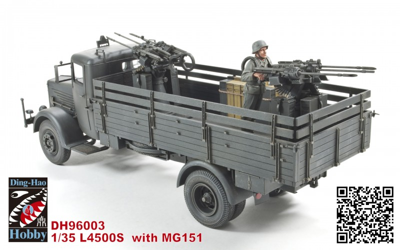 L4500S with MG 151 with 1 resin figure