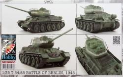 T34/85 Battle of Berlin 1945