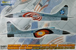 Mig-29 Luftwaffe JG.73 Operation Sniper 2003