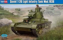 Soviet T-26 Light Infantry Tank Mod 1938