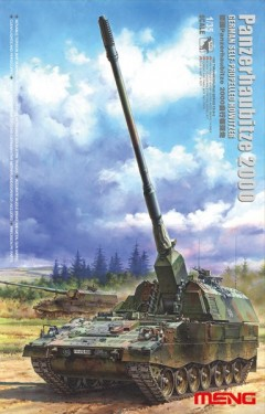 GERMAN Panzerhaubitze 2000 self- propelered Howitzer
