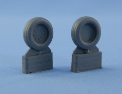 McDonnel Douglas F-15 Eagle E/I/K wheels set – No mask