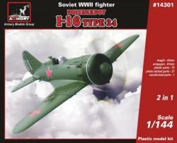 1/144 Polikarpov I-16 type 24