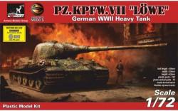 Pz.VII Löwe - German WWII prototype tank NEW TOOL
