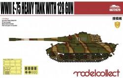 Germany WWII E-75 Heavy Tank with 128 gun