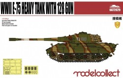 Germany WWII E-75 Heavy Tank with 128 gun