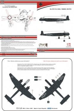He 219 V-5 DH+PU (early)