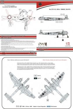 He 219 V-5 DH+PU (late)