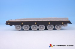 Russian T-80B Side Skirts set for Trumpeter