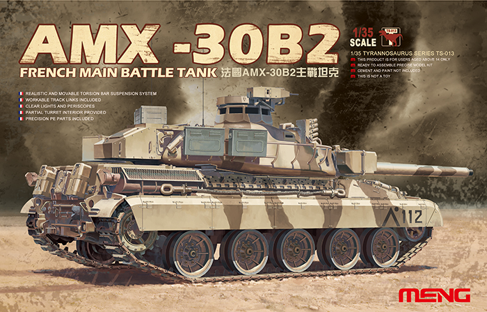 French Main Battle Tank AMX-30B2