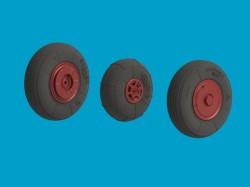 YaK-52 wheels set – Light series