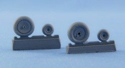 Ka-50, Ka-52 wheels and Weighted Tyres set – Light series
