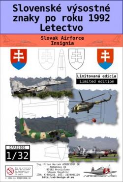 Slovenské výsostné znaky po roku 1992
