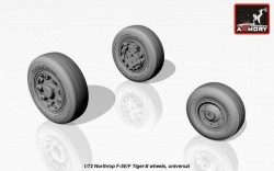 Northrop F-5E/F Tiger-II wheels, universal