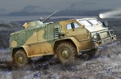 Russian GAZ39371 High-Mobility Multipurpose Military Vehicle
