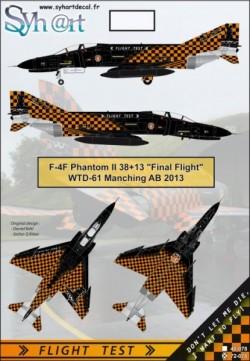 "F-4F Phantom II 38+13 ""Final Flight"" WTD-61 Manching 2013"