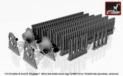 Pz.Kpfw.VIB Kingtiger battle tracks late Kgs 73/800/152 w/ 18-teeth late sprockets