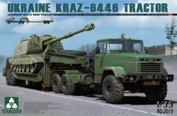 KRAZ-6446 TRACTOR