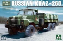 RUSSIAN KRAZ-260 Heavy Truck