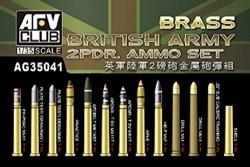 British Army 2pdr Ammo(Brass)