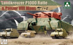Landkreuzer P1000 Ratte(Proto Type)&Panz