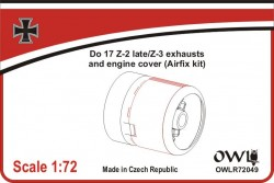 Do 17-2 late/Z-3 exhausts