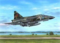 """SAAB AJ 37 Viggen """"Attack Version"""""""