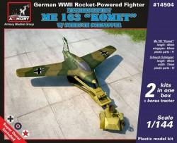 """Messerschmitt Me 163B """"Komet"""" w/ Scheuch Schlepper"""