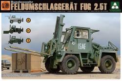 Bunderwehr Feldumschlaggerät FUG 2,5T