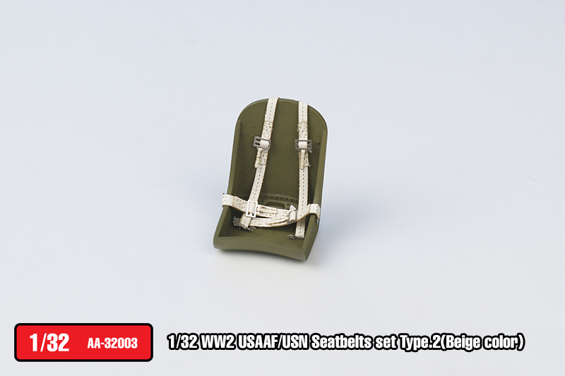 USAAF/USN Seatbelts set Type.2(Beige color)