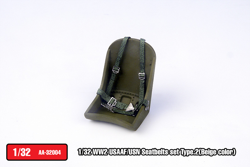 USAAF/USN Seatbelts set Type.2(Green color)