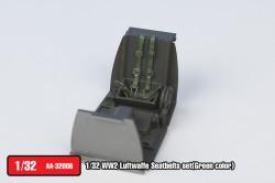 Luftwaffe Seatbelts set(Green color)