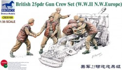 Brit. 25pdr gun crew set (WWII NW Europe)