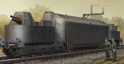 German Armored Train Panzertriebwag.Nr16