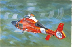 US Coast Guard HH-65C Dolphin Helicopter