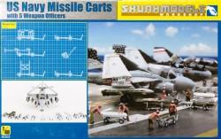 USN MISSILE CART + FIGURES