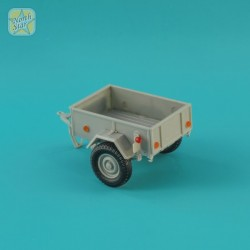 GAZ-704 Soviet light trailer