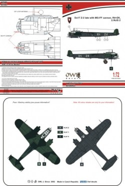 Do 17 Z-2 late R4+ZK NJG 2