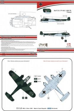 Do 17 Z-1 F1+JK KG 76
