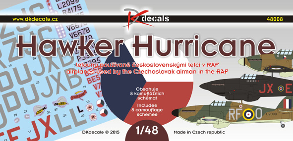 Hawker Hurricane Czechoslovak RAF fighters